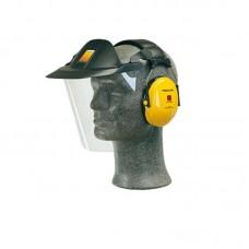 V40 Peltor Muffset with Headband and Strimming Visor