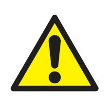 Warning Triangle 100x100x100mm