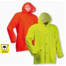 Lyngsoe Microflex Hi-Viz Rain Jacket