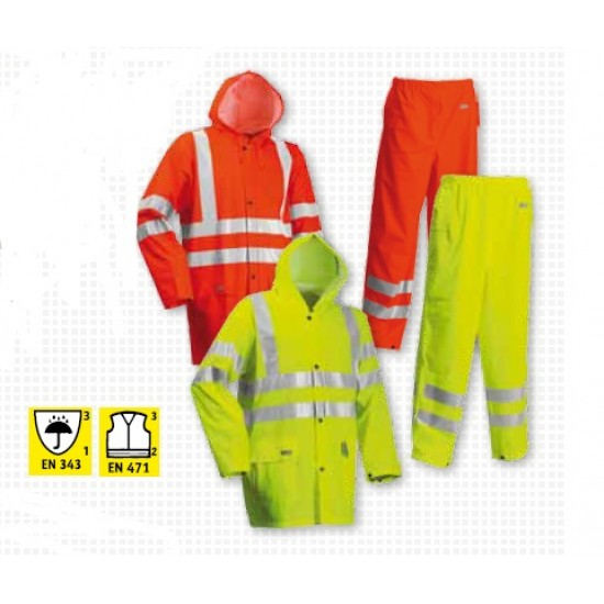 Lyngsoe Microflex Hi-Viz Jacket and Trousers