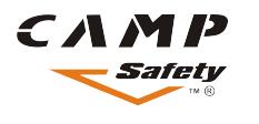 Logotipo de seguridad del campamento